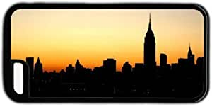 New York City Sky Line Theme Case For Iphone 6 Plus (5.5 Inch) Cover Case