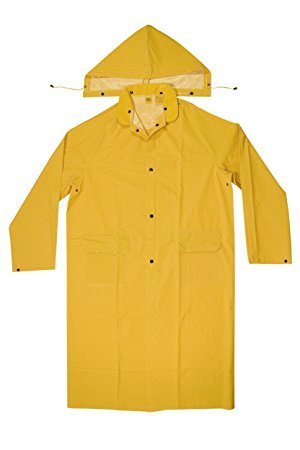 CLC Custom Leathercraft Rain Wear R105M .35 MM PVC Trench Coat - Medium