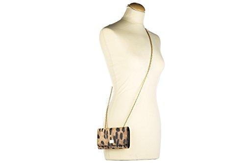 Pochette Dolce & Gabbana Pochette Borsa Da Donna In Pelle Con Tracolla