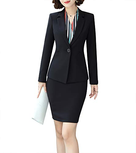 - Women Two Pieces Blazers Work Office Lady Suit Business Blazer Jacket&Pant