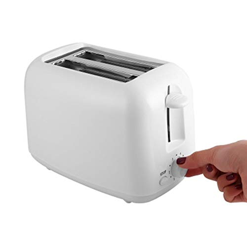 Compact Fast Breadmaker, Toaster Toaster Home Sandwich Breakfast Machine Automatic Breakfast Toaster, 800W White