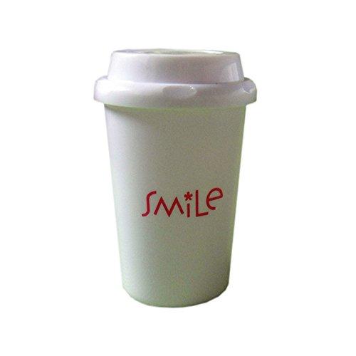 Hitop Classic Coffee Cup Home Mini Humidifier/USB Mug Car atomization/Ultra-quiet Air Purifier Small humidifier (Smile) (Smile Humidifier compare prices)