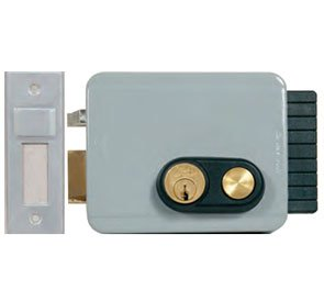 Viro V97 Electric Lock With Button Outward LH