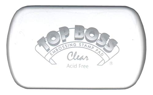- CLEARSNAP Top Boss Full Size Inkpads, Clear