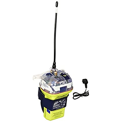 Image of ACR GlobalFix iPro 406 28480 EPIRB Category II Rescue Beacon with Manual Release Bracket, Built-in GPS, and LED Status Display