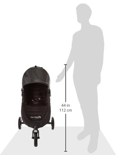 Baby Jogger 2016 City Mini GT Stroller in Black with Parent Console by Baby Jogger (Image #6)