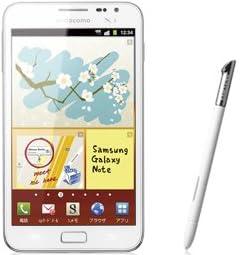 保証付 docomo GALAXY Note SC-05D 白ロム携帯
