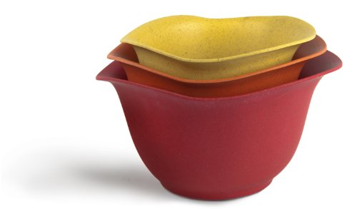 - Architec Purelast Mixing Bowl, Red to Yellow, Set of 3