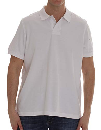 Whiskey and Oak Classic Fit Short Sleeve Polo Shirts for Men 15930-WHT-XL White