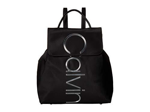 Calvin Klein Mallory Nylon Backpack Black One Size