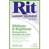 Rit Dye Powder Whitener and Brightener 1 Ounce 3-50