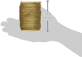 Multicolor Get Organized 30007180 Jute Spool Cord Natural
