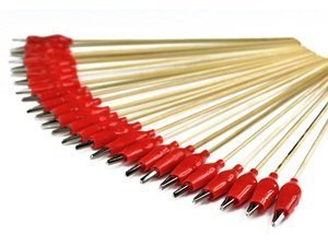 Bluecell 25 pcs Alligator Clip Stick for Airbrush Hobby Model Parts by Generic