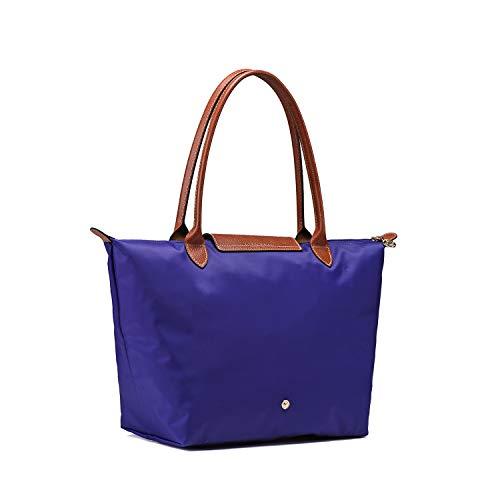 Cabas Sac pour Le Violet Cristal femme Longchamo Pliage WanqIqd