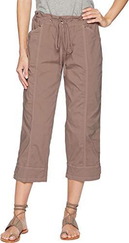 Fresh Produce Women's Stretch Broadcloth Safari Capris Portobello Large 22.5 ()