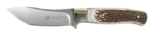 Puma SGB Saddleback Stag Hunters Knife with Leather Sheath ()