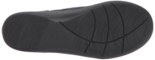 Clarks Womens Sillian Sway Ankle Bootie, Navy, 9 M US
