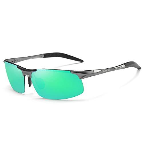 Hombre antideslumbrantes Aluminio polarizadas de sunglasses Gafas Sol Mjia Deportivas la magnesio polarizadas de protección Gafas Las C Gafas HD400 de de Sol B qawZt8Zx4
