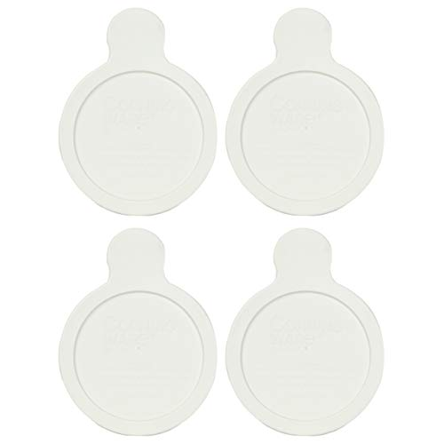 CorningWare Visions Grab-it P-150-CPC 15 Ounce French White Plastic Lid - 4 Pack from CorningWare