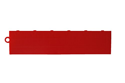 Speedway Garage Tile F789453R Garage Floor Female Ramp Edges with Loops, Red best