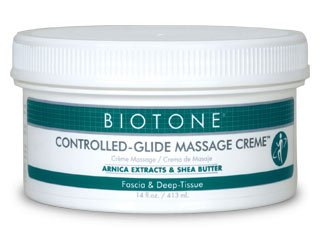 Biotone contrôle Glide Massage Creme, 14 once