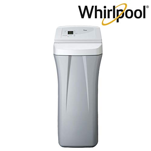 Whirlpool WHES30E 30,000 Grain Softener | Salt & Water Saving Technology | NSF Certified | Automatic Whole House Soft Water Regeneration, Off-White
