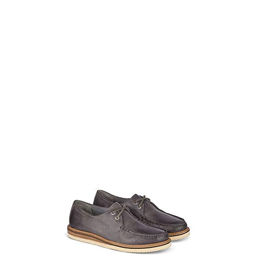 Sperry Top-Sider Gold Cup Captain's Leather Oxford Men 11.5 Grey (Sperry Captains Oxford Boat Shoe)