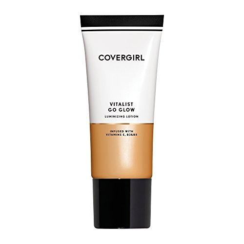 COVERGIRL Vitalist Go Glow Glotion, Light, 0.06 Pound (packaging may vary) Cover Girl Tinted Moisturizer