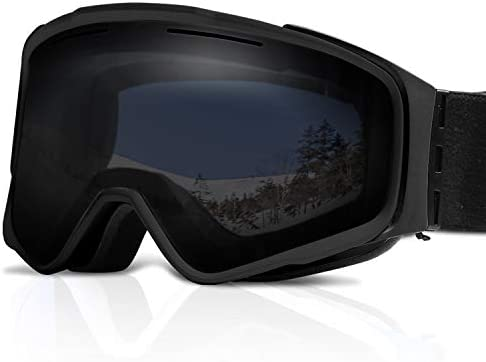 XR MAX 8 PRO Ski Goggles Anti-Fog,Interchangeable Lens 100 UV Protection Adjustable Headband Snow Goggles for Men Women