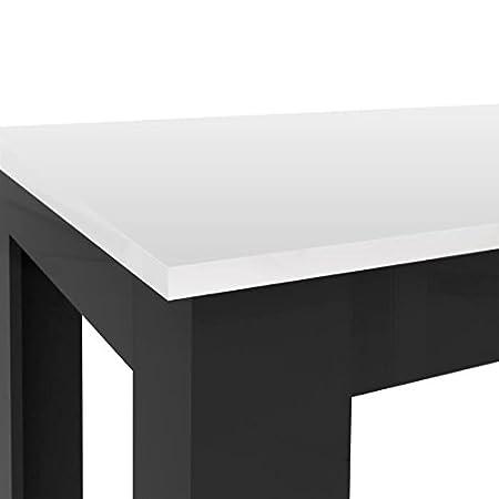 Finlandek Table Basse Carrée Pilvi Style Contemporain Blanc Et