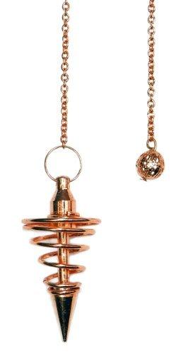- Copper Metal Spiral Pendulum