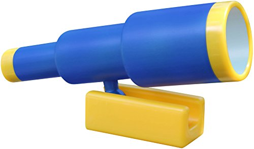 (Jungle Gym Kingdom Pirate Telescope - Swing Set Accessory (Blue))