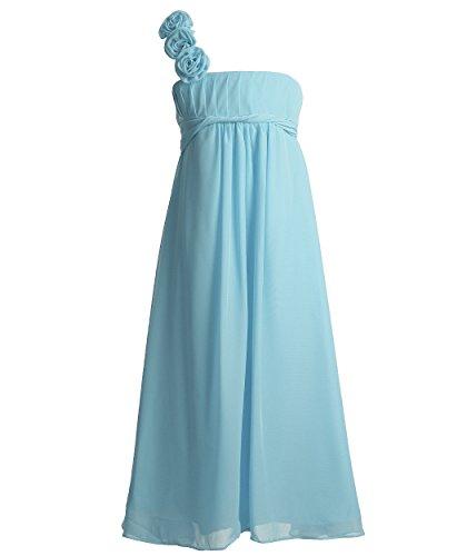blue grecian dress - 9