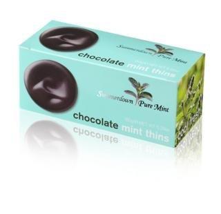 Summerdown Pure Mint - Chocolate Mint Thins - 150g