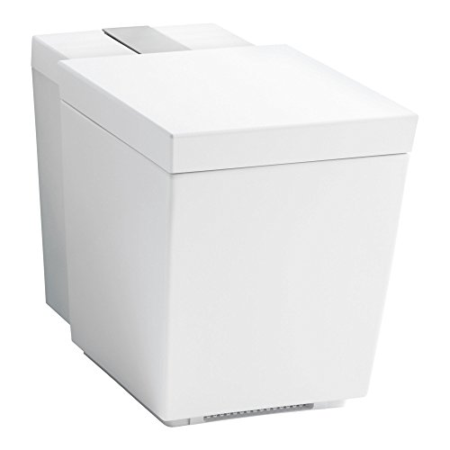 KOHLER K-3901-NSR-0 Numi Comfort Height elongated dual-flush intelligent toilet with skirted trapway and standard remote (One Piece) White