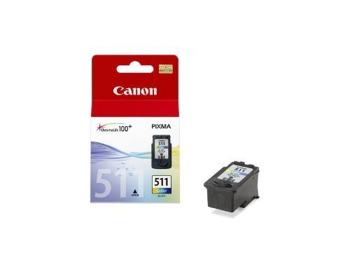 Canon Original ChromaLife 100 Colour Ink Tank CL 511