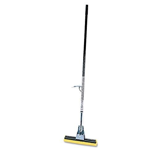 Rubbermaid Commercial Cellulose Sponge Mop with Steel Handle (FG643500BRNZ) - Sponge Rubbermaid Commercial