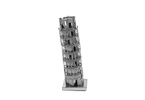 Leaning Tower Of Pisa - Fascinations Metal Earth Leaning Tower of Pisa Building 3D Metal Model Kit