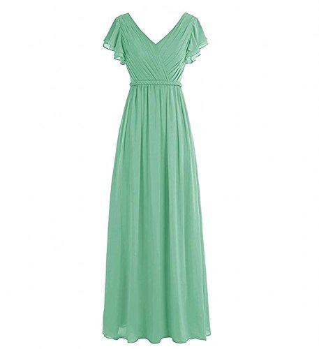 Vestido Mujer Para Ka Verde Beauty C8T7gw1q