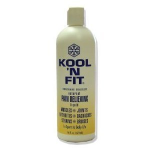 Kool 'N Fit Pain Relieving Spray Formula 16 oz. Refill Bottle