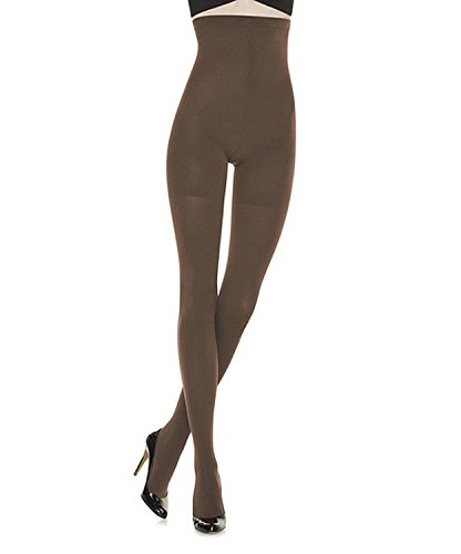 Spanx Tight End Tights High Waisted Body Shaping Tights (C, Java)