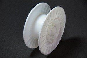 プラスチックボビン 20K(S)(PS 樹脂ナチュラル色)   B0734G22BH