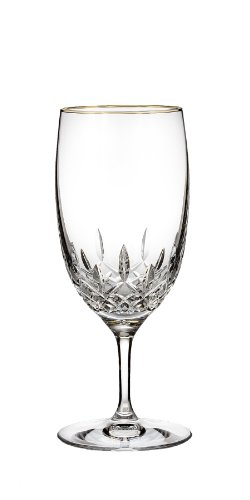 Waterford Lismore Essence Gold Stemware Iced Beverage Glass Essence Iced Beverage Glass