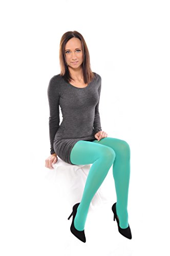 Opaque Microfiber Tights different colours