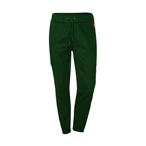 Grün Taschen Fitness Mit Sport Fit Basic Pantalon Pour D'été Sporthose Homme Hosen De Slim OxxFU7qaw