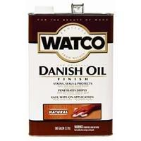 RUST-OLEUM 65531 Watco Gallon Light Walnut Danish Oil Finish