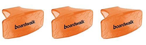 Boardwalk CLIPMAN Bowl Clip, Mango Scent, Orange (Box of 12) (3-Pack) by Fresh Products (Image #1)