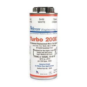 Capacitor, Universal, 5 to 97.5 MFD by Turbo