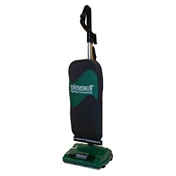 "BISSELL BigGreen Commercial BGU8000 Lightweight Upright Vacuum, 13"", Green"