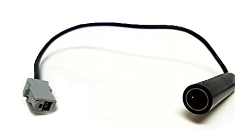 Antenna adapter that connects from an aftermarket antenna or FM modulator to the oem factory radio from a KIA, FORTE and KOUP, 2010, 2011, 2012, 2013, 2014, (Radio For Kia Forte)
